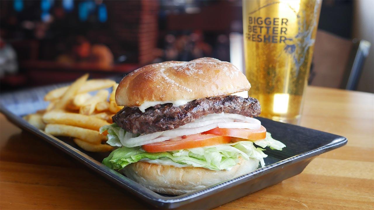 picture of ram classic burger