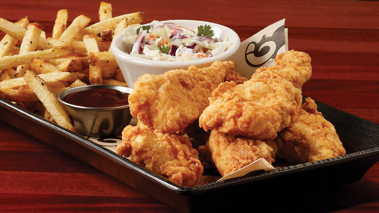 picture of chicken strips