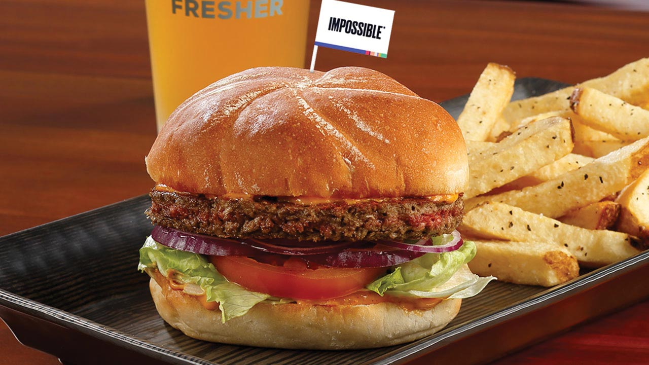 picture of impossible burger